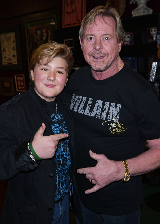 Zachary Alexander Rice and Rowdy Roddy Piper_pp
