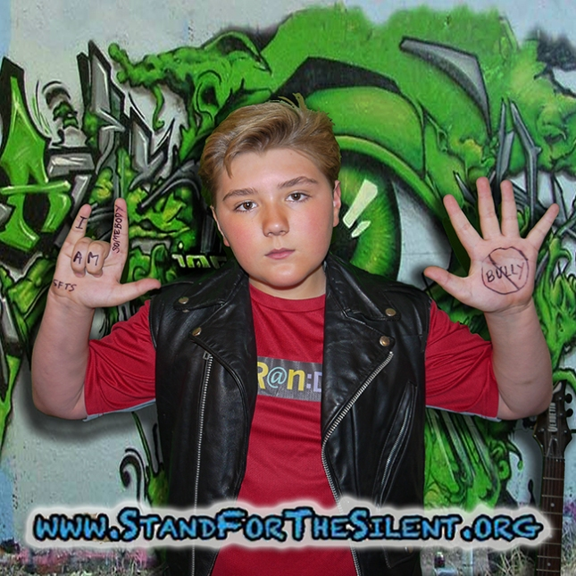 Zachary Alexander Rice stands with Roddy Piper by pledging to StandForTheSilent.org